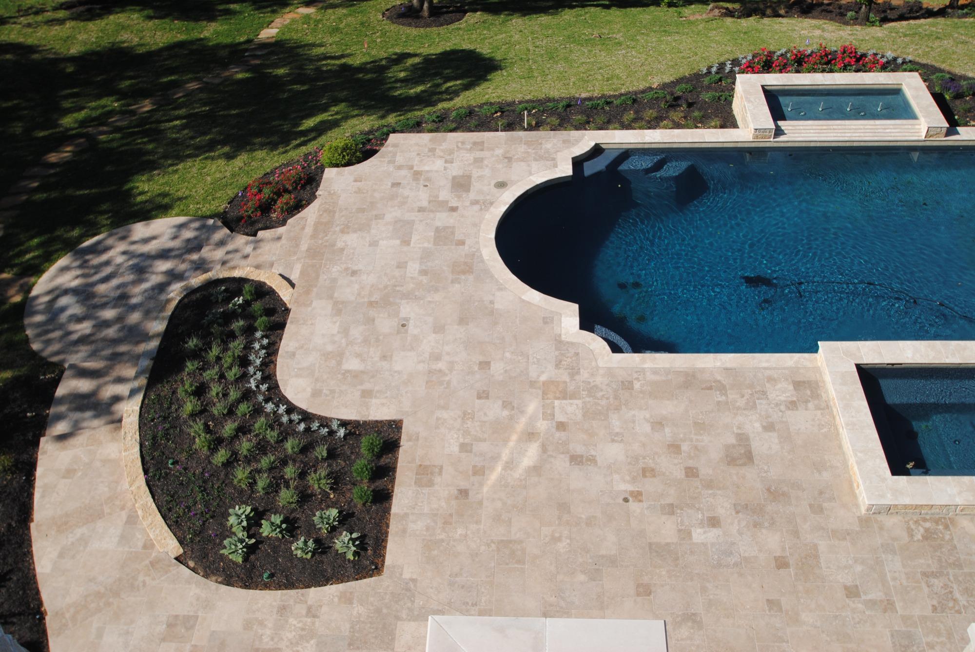 Limestone Kitchen Backsplash Patio Amp Pool Decks Shelton Tile